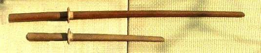 Bokuto: tachi e kodachi
