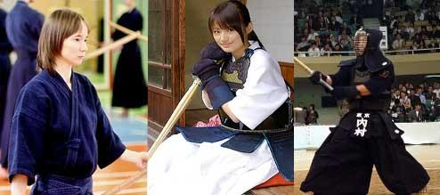 Cores de uniformes para Kendo