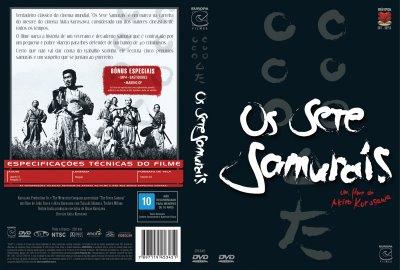 Sete Samurais - Capa do DVD