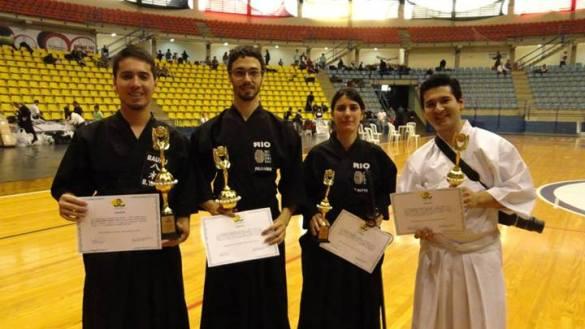 Yagi, Felisardo, Mattos e Yamauchi.