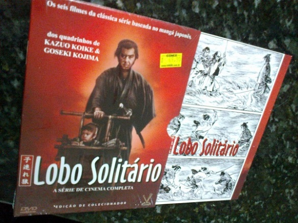 Box dos DVDs.