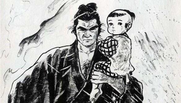 Lobo Solitário e Filhote.