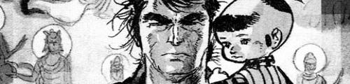 Lobo Solitário - Os quadrinhos - clique para ler