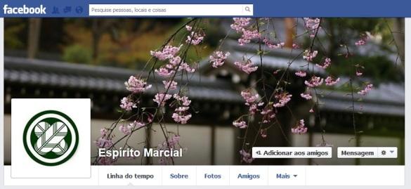 Facebook - Espírito Marcial