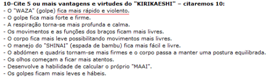 Virtudes do kirikaeshi