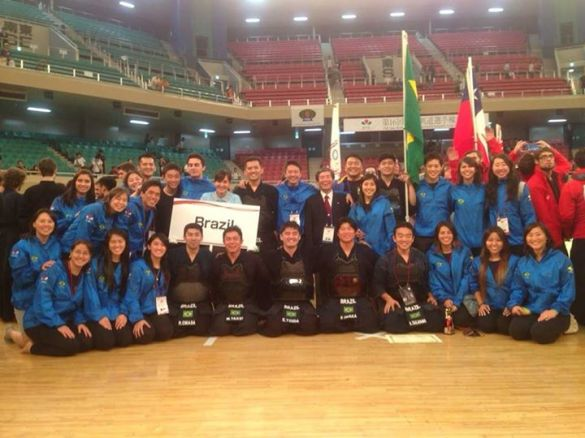 Equipe brasileira de Kendo